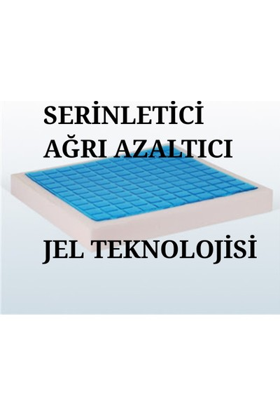 Softlife Visco Foam Jelli Oturma Minderi