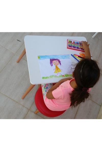 Depolife Çocuk Ders Çalışma Oyun Masası Takımı