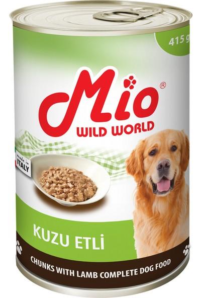 Mio Kuzu Etli Köpek Konservesi 415 gr 24'lü