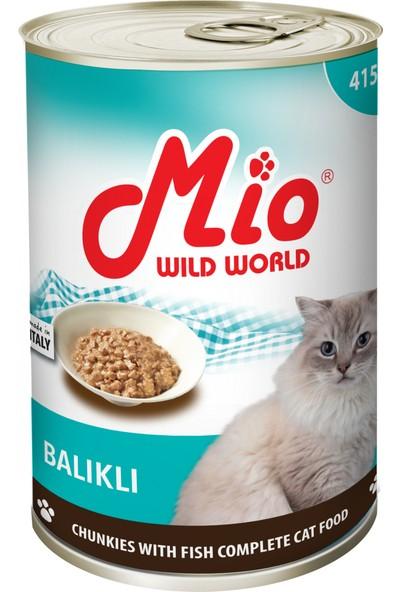 Mio Balıklı Kedi Konservesi 415 gr 24 lü