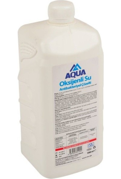 Aqua Oksijenli Su Antibakteriyel Çözelti 1000 ml