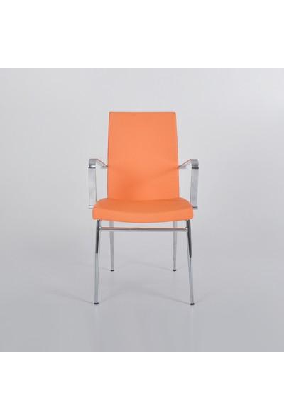 Boo Lily Kolçaklı Sandalye Turuncu