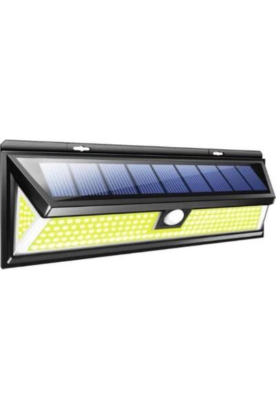 Mighty Solar Bahçe Lambası 180 Ledli Sensörlü Solar Lamba Güneş Enerjili Bahçe Aydınlatma