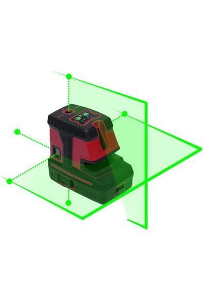 Measure MSG25 5 Noktalı Yeşil Artı Lazer Hizalama