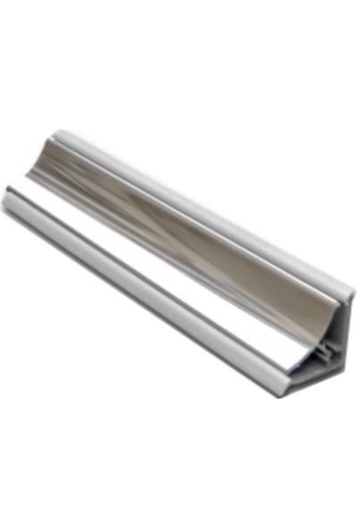 Royal Duş Duşakabin Küvet Kenar Çıtası Krom Aluminyum Gövde