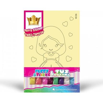 Artikel Kb 336 Prenses 2 Tuz Boyama Tac Puffy Fiyati