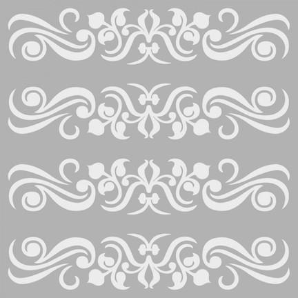 46ce59801f843 Artikel Desen 4 Stencil Tasarımı 30 x 30 Cm Fiyatı