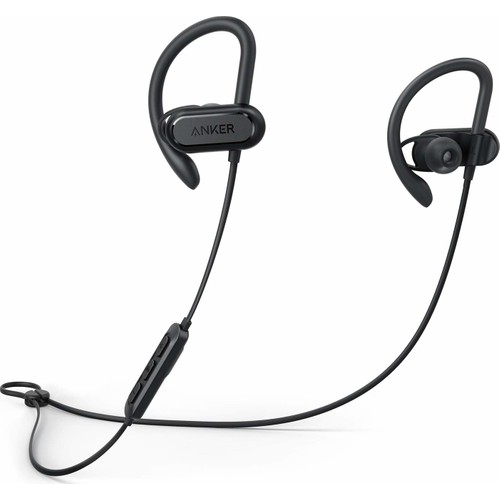 Anker Soundcore Spirit X Bluetooth 5.0 Spor Kulaklık - IPX7 Suya Dayanıklılık - 12 Saate Varan Şarj - Siyah - A3451