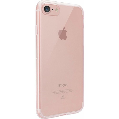 Ozaki O!coat Crystal+ Apple iPhone 7-8 Silikon Kılıf Pembe