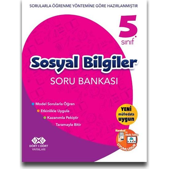 4x4 5. Sınıf Sosyal Bilgiler Soru Bankası
