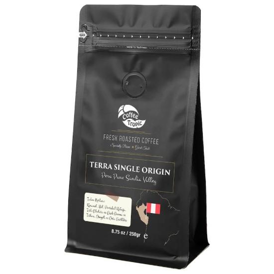 Coffeetropic Terra Single Origin Peru Puno Sandia Valley 250 Gr