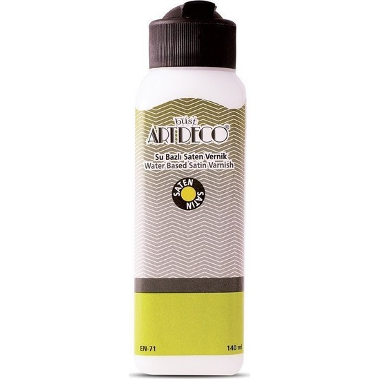 Artdeco Su Bazlı Saten Vernik 140Ml