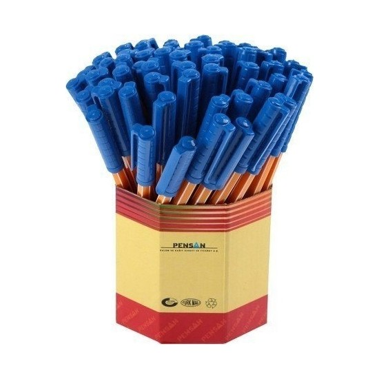 Pensan Tükenmez Ofispen 1010 60lı - Mavi