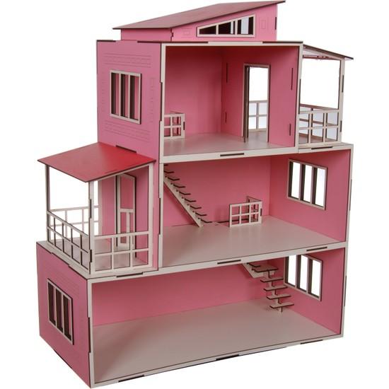 Ahşap Toys Ahşap Özel Tasarım Bebek Evi