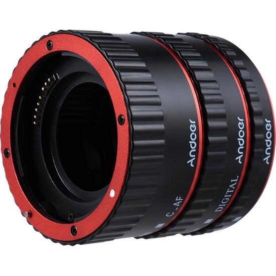 Andoer Canon Uyumlu Ttl Otomatik Odaklama Af Makro Uzatma Tüpü