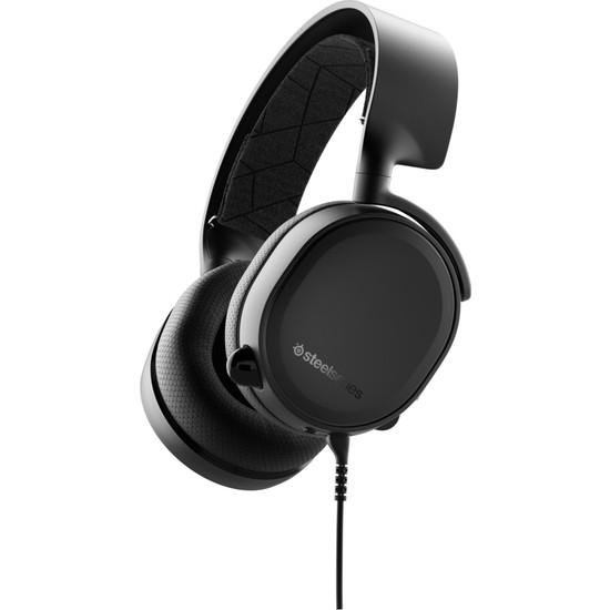 SteelSeries Arctis 3 Siyah (2019 Edition) Oyuncu Kulaklık