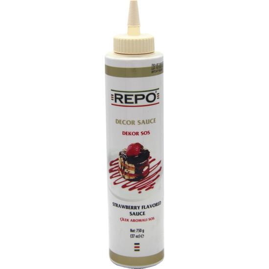 Repo Çilek Aromalı Dekor Sos (750 gr)