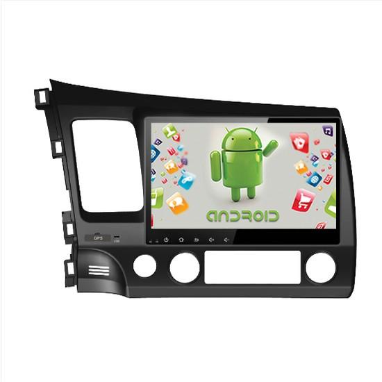 """Navimate Honda Civic 2011 10.1"""" Android Navigasyon Multimedya Tv Oem"""