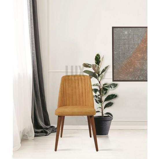 Dekorbizden Kelebek Yemek Masası Sandalyesi