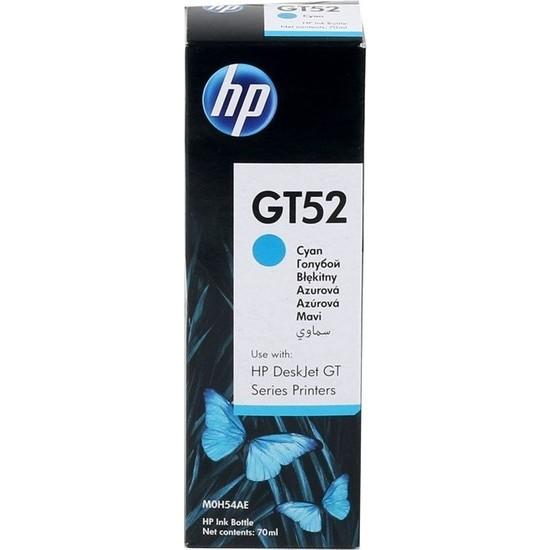 HP M0H54AE (GT52) Mavi İnk Bottle (8K)