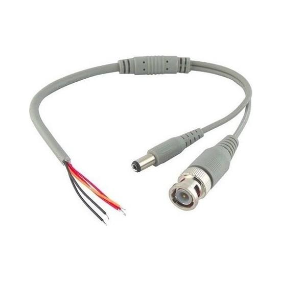 Bbelektronik Hazır Bnc Ve Dişi Power Jak Fişli Güvenlik Kamera Kablosu