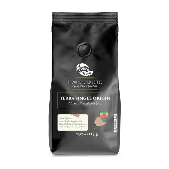 Coffeetropic Terra Single Origin Ethiopia Yirgachaffe 1 kg