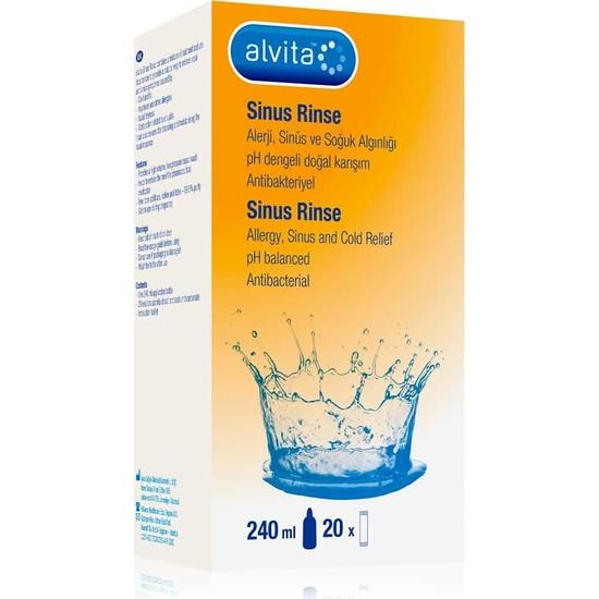 Alvita Sinus Rinse Kit Yetişkin İçin 240 ml