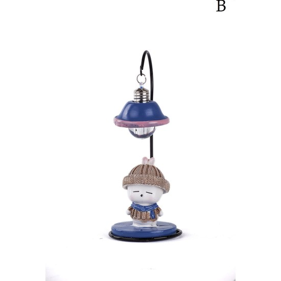 Mukko Home lambalı Tavşan Biblo / Okuma lambası 18 cm