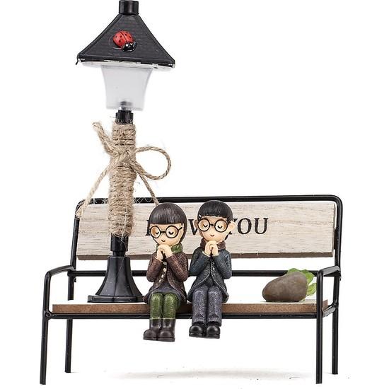 Mukko Home lambalı Sevgili Biblo 18 cm