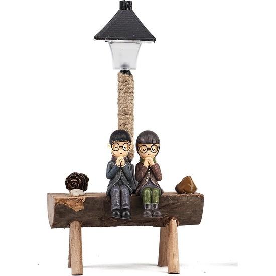 Mukko Home lambalı Sevgili Biblo 19 cm
