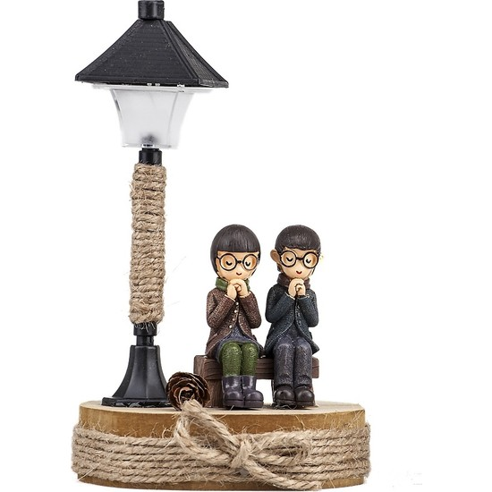 Mukko Home lambalı Sevgili Biblo 16 cm