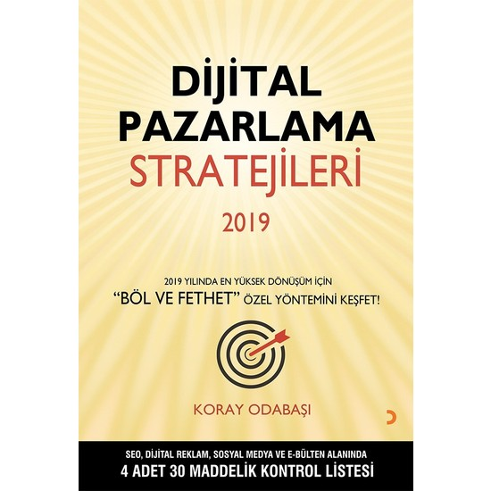 Dijital Pazarlama Stratejileri 2019 - Koray Odabaşı