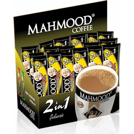Mahmood Coffee 2si1 Arada 10 gr 48' li
