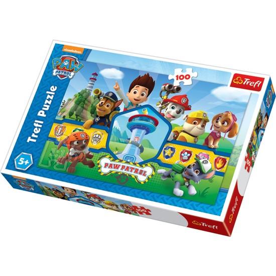 Trefl Puzzle Heroes Team, Paw Patrol 100 Parça Puzzle