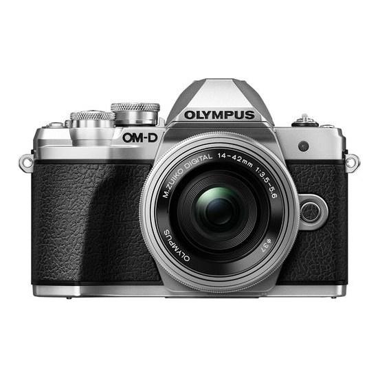 Olympus E-M10 Mark 3 - 14- 42 Iır Gümüş Aynasız Fotoğraf Makinesi