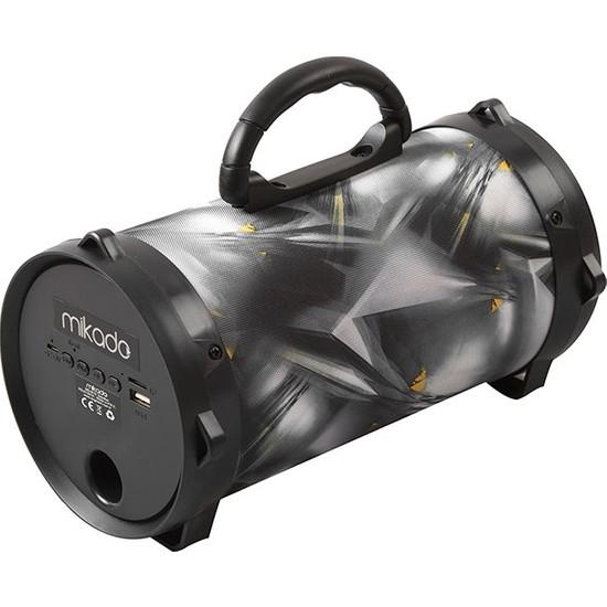 Mikado Md-Bt9 Siyah/Gri Bluetooth Usb+Sd+Fm Destekli 5W Speaker