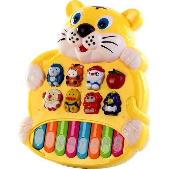 Can Ali Toys Türkçe Konuşan Akıllı Kaplan Piyano