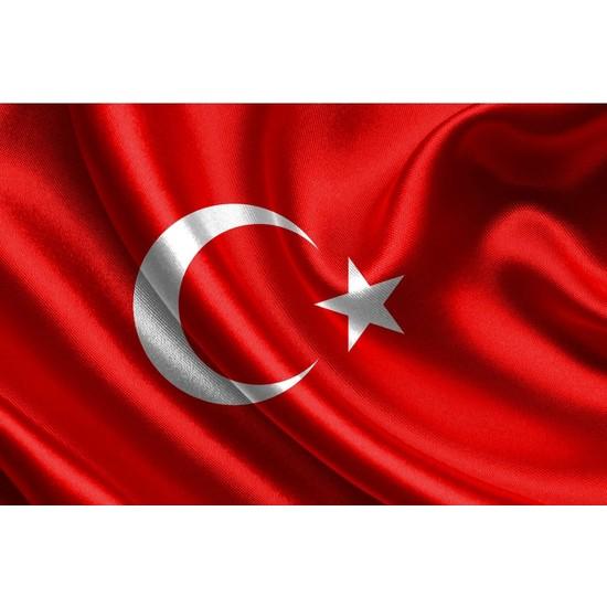 Gönder Bayrak Türk Bayrağı - Raşel Kumaş - 70X105Cm