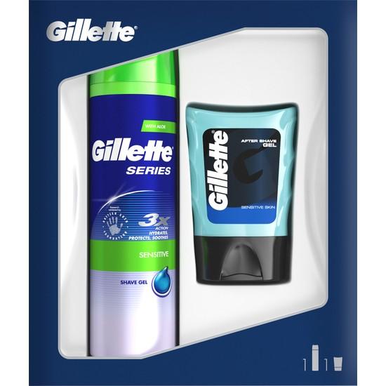 Gillette Series Tıraş Jeli Hassas 200 ml + Tıraş Sonrası Balm 75 ml