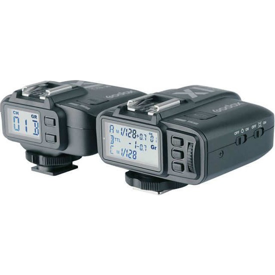 Deyatech Godox X1N Ttl Wireless Flash Tetikleyici Nikon Uyumlu Alıcı Verici