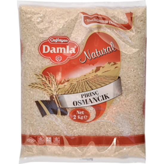 Damla Osmacık Baldo Pirinç 2 kg