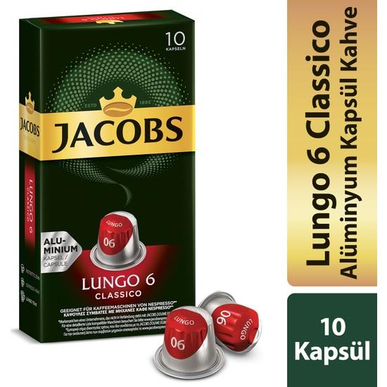Jacobs Kapsül Kahve Lungo 6 Classic