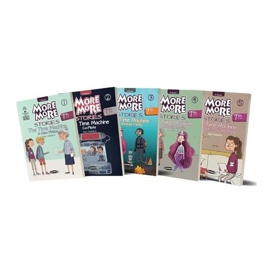 Kurmay Elt More And More Stories 7. Sınıf Hikaye Seti 5 Kitap