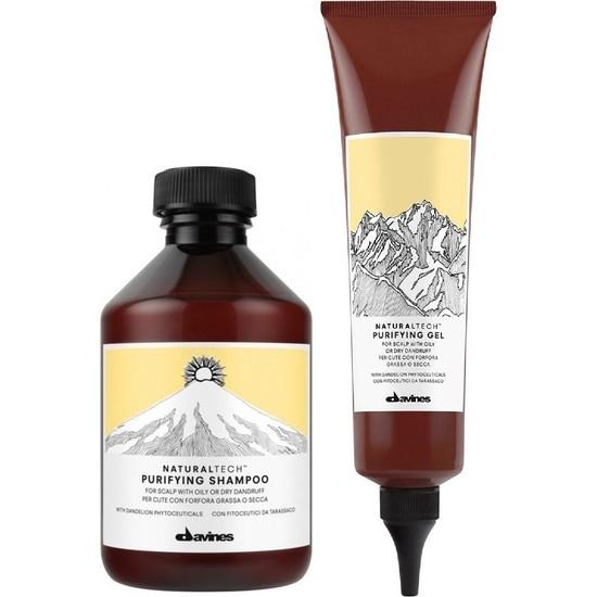 Davines Purifying Kepeğe Karşı Şampuan 250ml + Arındırıcı Jel 150ml