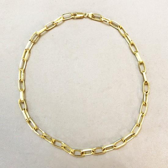 Vella Jewels Kalın Seyrek Forse Zincir 45 Cm