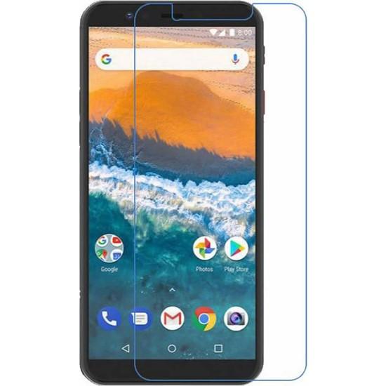 Microcase General Mobile G9 Pro Tempered Glass Cam Ekran Koruma