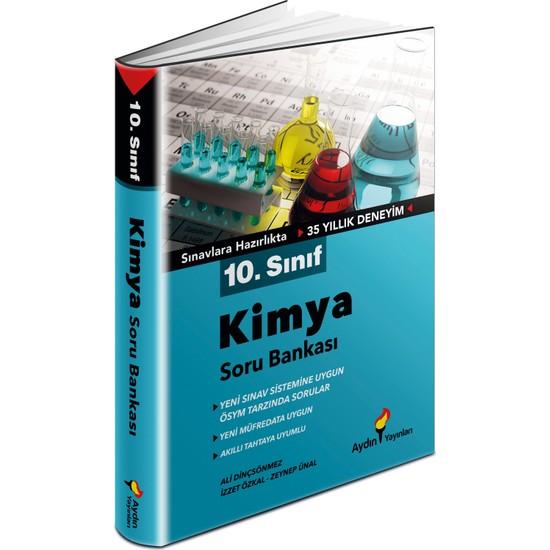 Aydın Yayınları 10.Sınıf Kimya Soru Bankası
