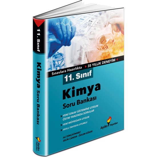Aydın Yayınları 11. Sınıf Kimya Soru Bankası