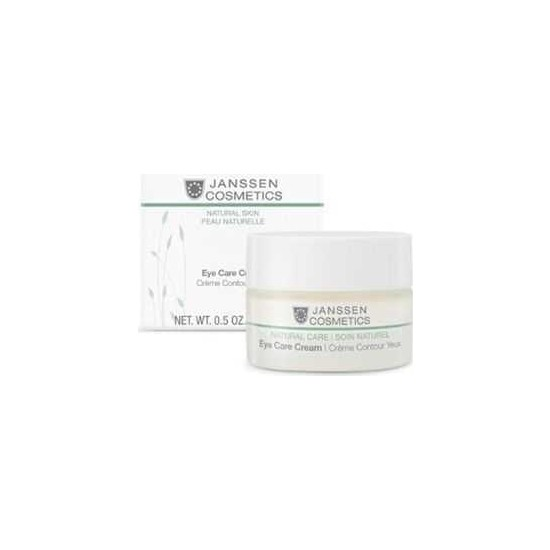 Janssen Cosmetics Natural Care Eye Care Cream 15 ml