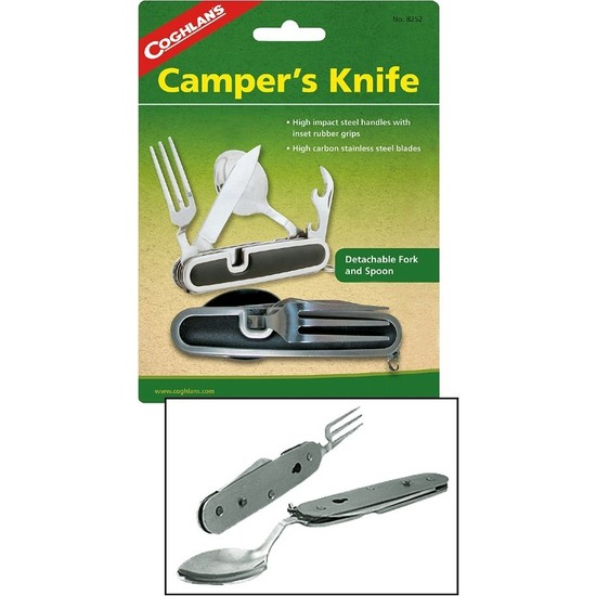 Coghlans Camper (Bıçak,Çatal,Kaşık Ve Konserve Açacağı)